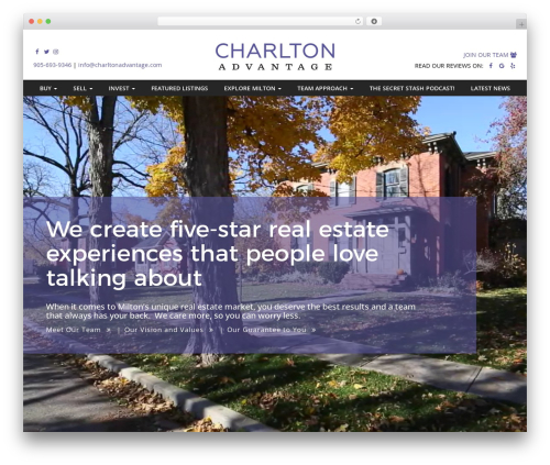 CHARLTON Theme template WordPress - charltonadvantage.com