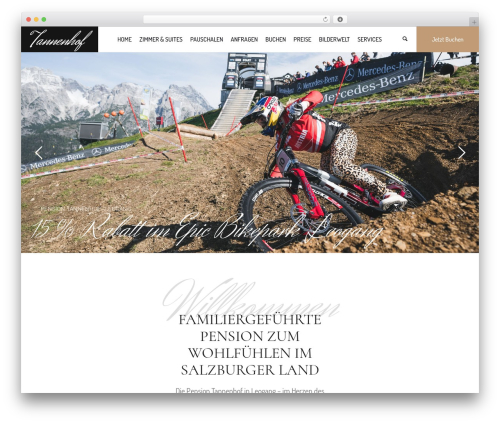 Hotel LUX WP template - pensiontannenhof.at