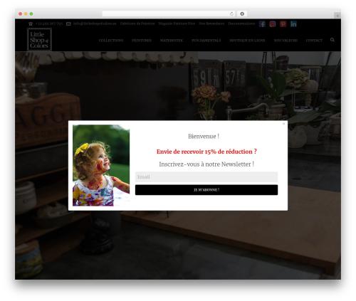 Jupiter WordPress ecommerce theme - littleshopofcolors.eu