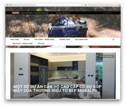 Neder premium WordPress theme - diamondland.info