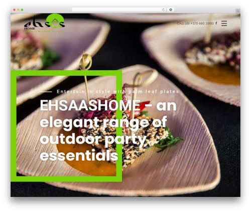 Phlox WordPress template free - ehsaashome.com