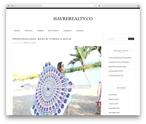 Pro Blog WordPress blog template - havrerealty.co