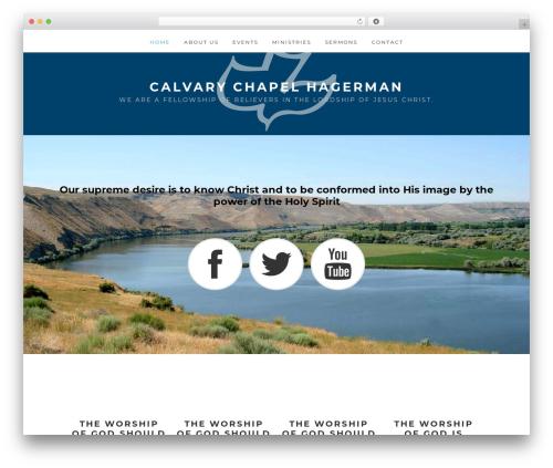 Remobile Pro WordPress theme - calvarychapelhagerman.com