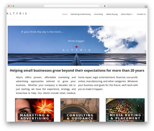 Renden template WordPress free - altyris.com