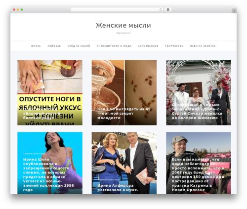 Simpatika WP theme - pargames.ru