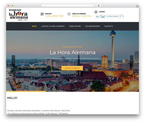 TheBuilt WordPress theme - lahoraalemana.cl