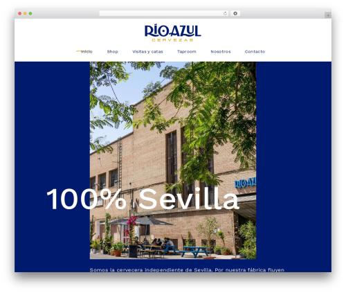 Theme WordPress Tonda - cervezasrioazul.com