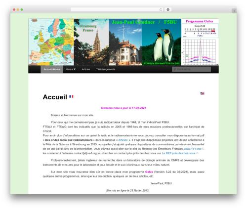 Twenty Eleven free WordPress theme - f5bu.fr