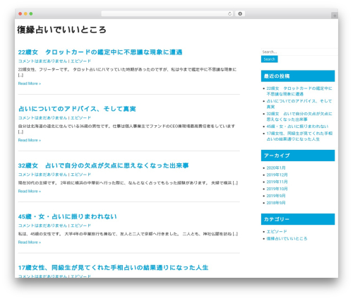 WordPress template Fixit Lite - theeveoption.org