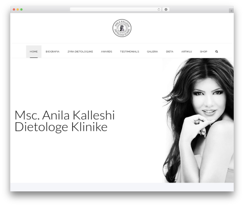 WordPress website template Veda - anilakalleshi.com