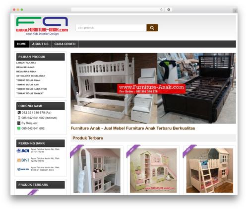 WP theme WP-Lancar - furniture-anak.com