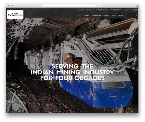 Best WordPress theme Ananke - minelineindia.com