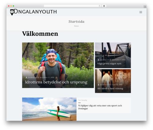 Betheme WordPress theme design - dngalanyouth.se