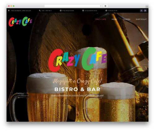 Bettaso WordPress theme - crazycafe.hu