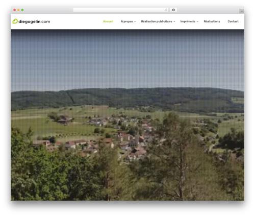 Creatink WordPress template - diegogelin.com