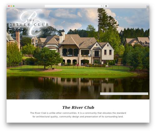 Dreamland top WordPress theme - riverclubliving.com