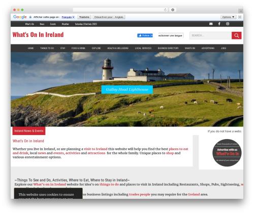 MH Newsdesk WordPress news template - whatsoninireland.com