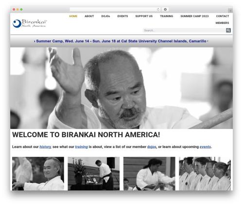 Neve template WordPress - birankai.org