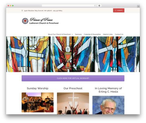 Pastore Church best WooCommerce theme - pplc.org