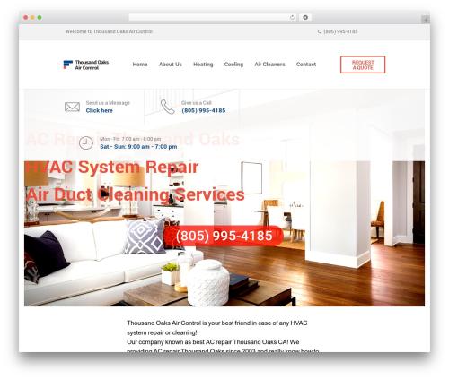 SaturnThemes FinanceBank company WordPress theme - thousand-oaks-air-control.com