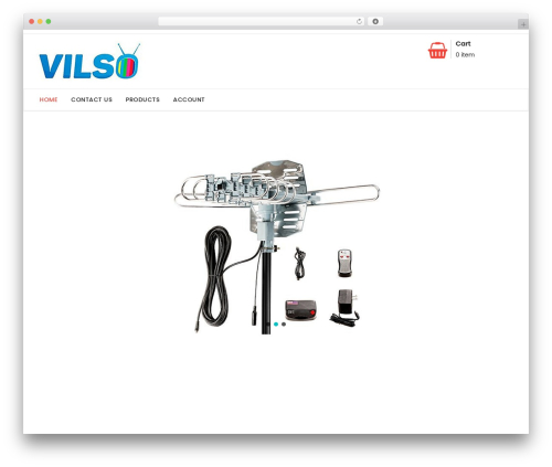Shopress WordPress website template - vilsotvbox.com
