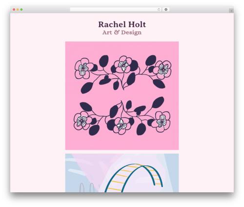 Theme WordPress Activello - rachelholtdesign.com