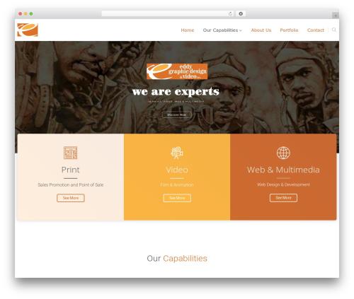 Theme WordPress The8 - eddygraphicdesign.com