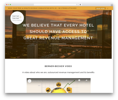 Themify Ultra best hotel WordPress theme - bernerbecker.com