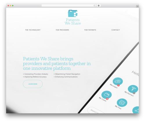 WP theme Movedo - patientsweshare.com