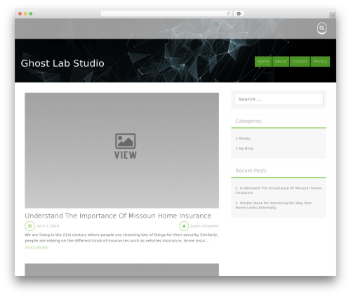 Aldehyde WordPress theme free download - ghostlabstudio.com