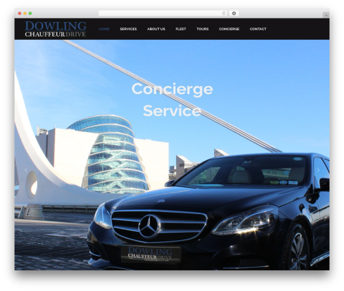 Bridge WordPress theme - dowlingchauffeurdrive.com