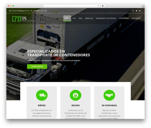 BuilderPress WordPress theme - transportesportuariosgallegos.com