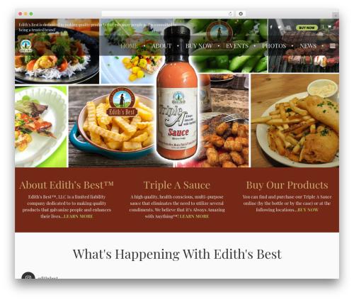 Farmworld best WordPress template - edithsbest.com