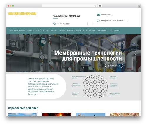Finance WordPress theme - 3a-e.ru