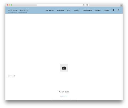 fresco by DigiPress WordPress theme design - jazz-yuji.com