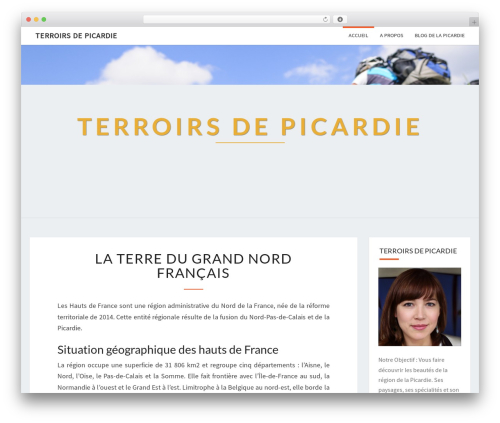 Nisarg WordPress template for photographers - terroirsdepicardie.com