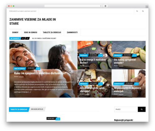 Template WordPress Public Opinion - kamnakosilo.si