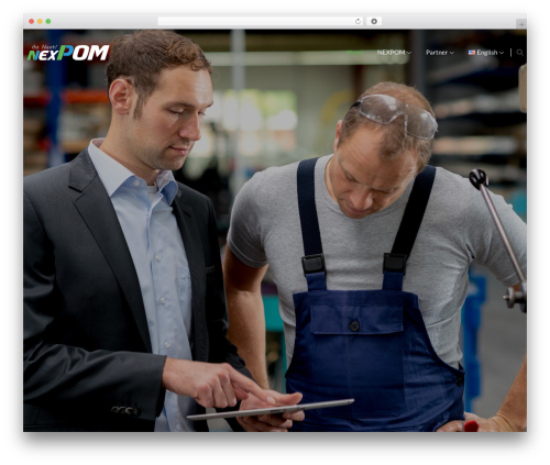 The8 WordPress theme - nexpom.com
