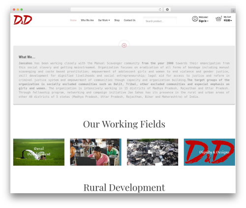 Free WordPress Easy Sidebar Menu Widget plugin - dignityanddesigns.com