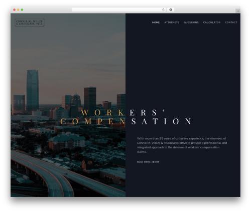 WordPress theme Movedo - cmwalaw.com