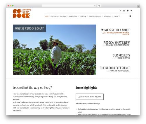 WordPress theme Newspaper - redock.org