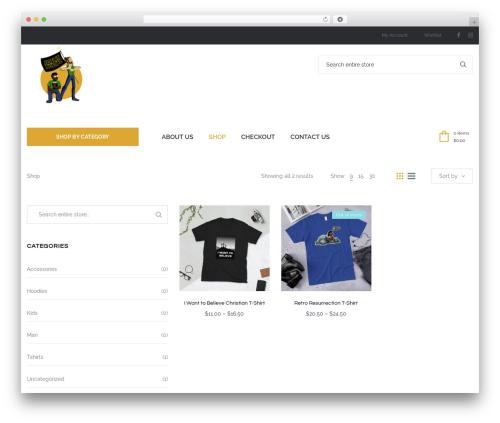 WordPress theme Oasis - jesusnerdz.com