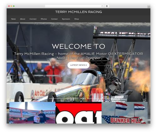 Agency Pro Theme car rental WordPress theme - terrymcmillen.com