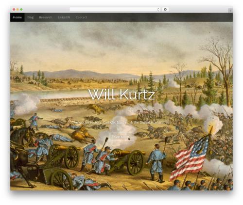 Arcade Basic best free WordPress theme - wkurtz.com