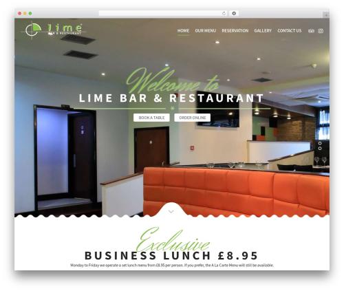 Free WordPress Slick Sitemap plugin - limerestaurant.co.uk