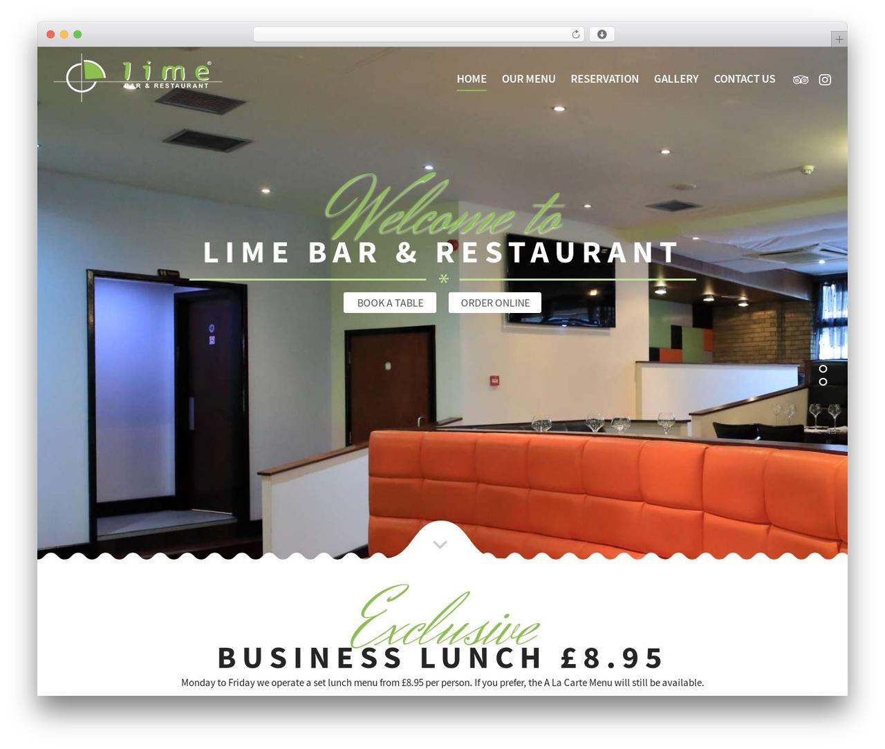 Best WordPress template Lime */ - limerestaurant.co.uk