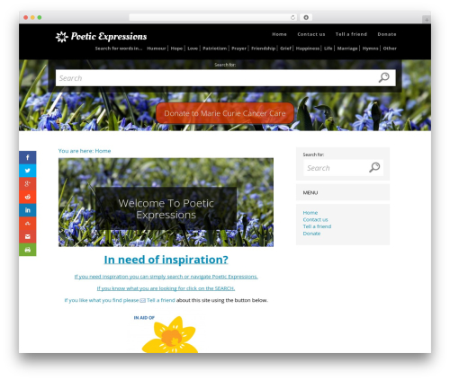 DocPress WP theme - poeticexpressions.co.uk