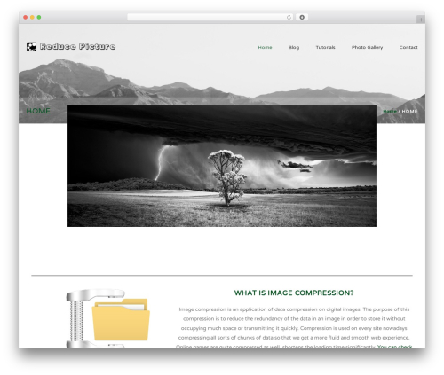 Fotopress WordPress free download - reducepicture.com