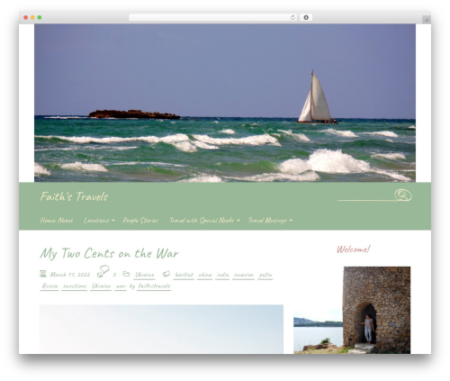 Handdrawn-lite free WordPress theme - faithstravels.com