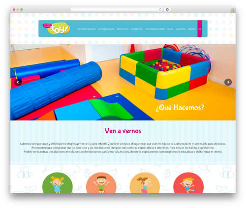 Kidslife WordPress theme - escuelainfantiltoys.com